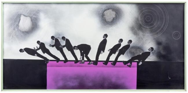 Den Rock Aber Nicht Den Hut by Robert Elfgen contemporary artwork