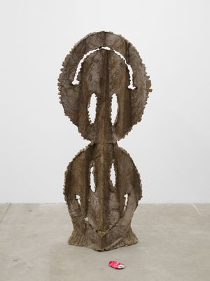Unfucking Titled Free by Michael Dean contemporary artwork sculpture