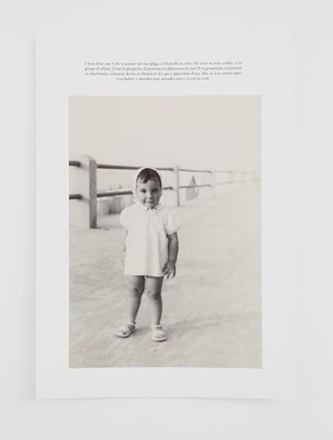 Attendez moi (FR) * by Sophie Calle contemporary artwork