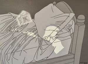 Giotto's Soul No. 2 by Li Bangyao contemporary artwork