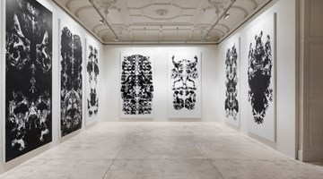 Contemporary art exhibition, Mark Wallinger, Upside Down Inside Out Back to Front at Galerie Krinzinger, Vienna