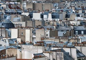 Paris Rooftop #17 by Michael Wolf contemporary artwork