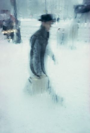 Package by Saul Leiter contemporary artwork