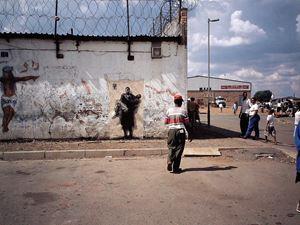 Soweto III by Ernest Pignon-Ernest contemporary artwork