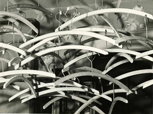 Obstruction (Coat Hangers) by Man Ray contemporary artwork