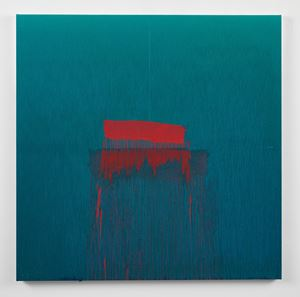 Considering Rothko #5 by Pat Steir contemporary artwork painting