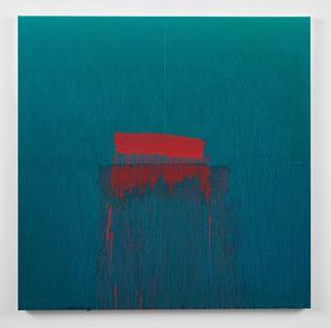 Considering Rothko #5 by Pat Steir contemporary artwork