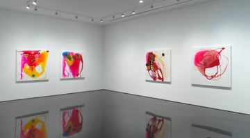 Contemporary art exhibition, Helen Marden, Bitter light a year at Gagosian, 980 Madison Avenue, New York