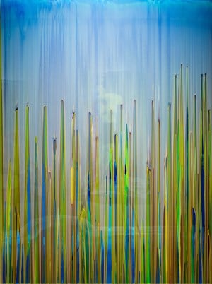 The deafening volume of his insatiable inabilities by Dale Frank contemporary artwork