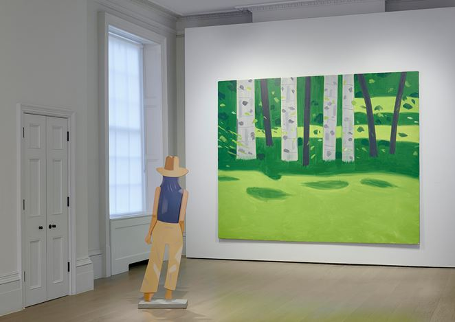 Exhibition view: Alex Katz, Timothy Taylor, London (15 January–22 February 2020). © Alex Katz/DACS, London/VAGA, New York. Courtesy Timothy Taylor, London/New York.