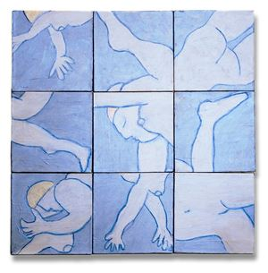 Swimmers by Susan Weil contemporary artwork