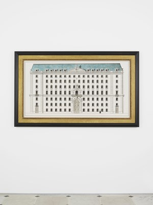 City Palace by Pablo Bronstein contemporary artwork