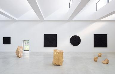 Contemporary art exhibition, Bosco Sodi, Into the Deepest at Axel Vervoordt Gallery, Antwerp, Belgium