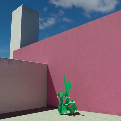 Exhibition view:Misha Milovanovich, The Shape of Colour, Dellasposa Gallery, London (10 March–9 May 2021). Courtesy Dellasposa Gallery.