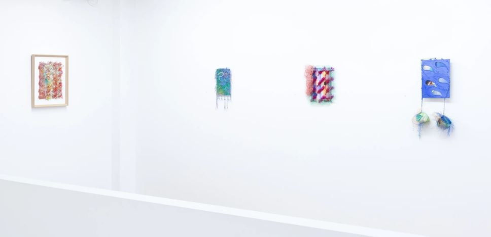 Exhibition view: Jade Townsend, Homesick/Sickhome, PAGE Galleries, Wellington  (30 May–20 June 2020). Courtesy PAGE Galleries.