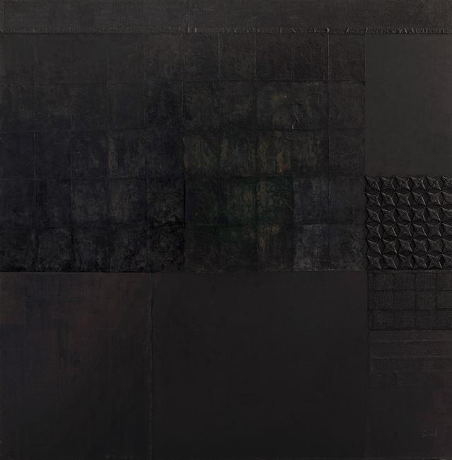 Black Dreams I by Pinaree Sanpitak contemporary artwork