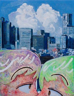 Kiss for days by Koichi Enomoto contemporary artwork