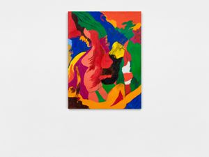 Afterthoughts on the Warren Commission by Robert Colescott contemporary artwork