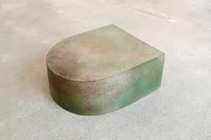 Pillar IV (1/2 round) by Jaime Jenkins contemporary artwork sculpture