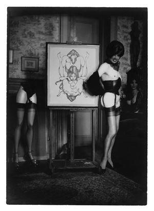 Autoportrait by Pierre Molinier contemporary artwork