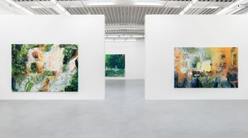 Contemporary art exhibition, Alexandre Lenoir, Sur le fil / On the Edge at Almine Rech, Brussels