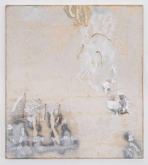 da war jemand by Gerhard Hoehme contemporary artwork painting