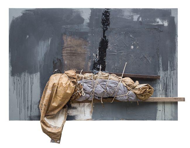 Crimped Tent by Bernardo Pacquing contemporary artwork