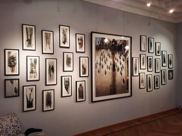 Exhibition view: Ernest Pignon-Ernest, Galerie Laurentin, Brussels (15 September–14 November 2020). Courtesy Galerie Laurentin, Paris - Bruxelles.