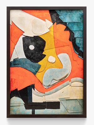 Surfaces: Untitled, after Ad Reinhardt by Vik Muniz contemporary artwork