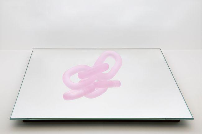 Come On Home/pink by Monica Bonvicini contemporary artwork