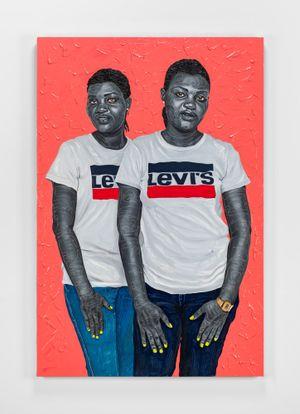 Oneness by Otis Kwame Kye Quaicoe contemporary artwork painting
