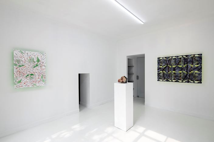 Exhibition view: Group Exhibition, Down the Rabbit Hole, Capsule Shanghai (11 January–14 February 2020). Courtesy Capsule Shanghai.