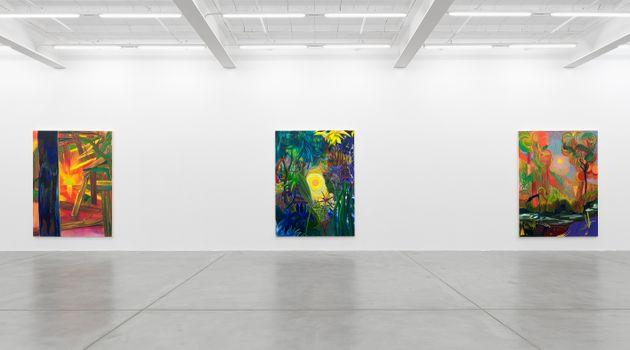 "Shara Hughes<br><em>Return of Light</em><br><span class=""oc-gallery"">Galerie Eva Presenhuber</span>"