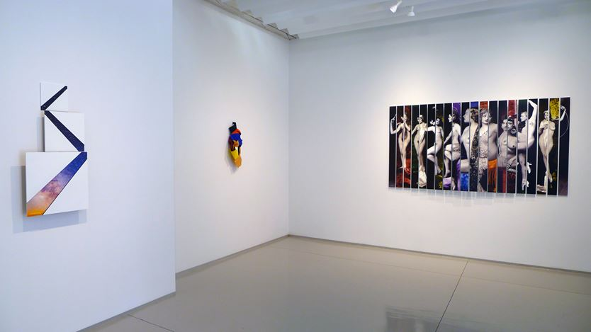 Exhibition view: Susan Weil,Now and Then, Sundaram Tagore Gallery, Chelsea, New York (8 June—8 July 2017). Courtesy Sundaram Tagore Gallery.