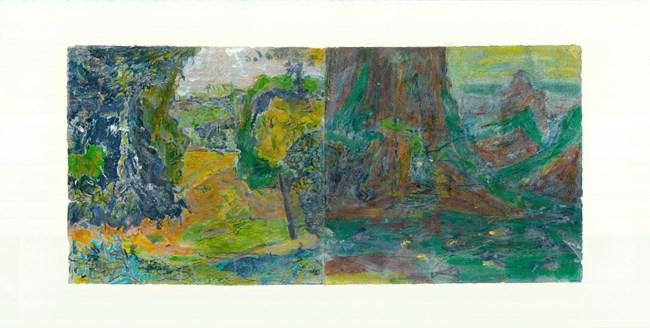 To Bonnard, Set One 4 by Qi Lan contemporary artwork