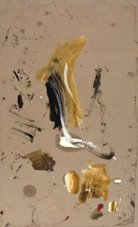 Ohne Titel (Baum) by Martha Jungwirth contemporary artwork painting, works on paper