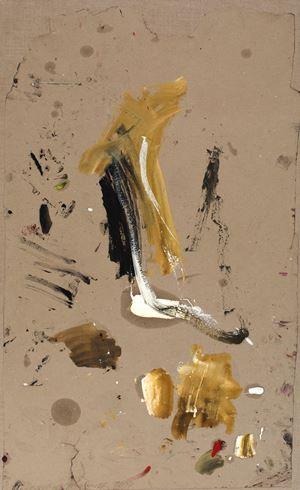 Ohne Titel (Baum) by Martha Jungwirth contemporary artwork