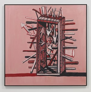 Martyr by Philip Guston contemporary artwork
