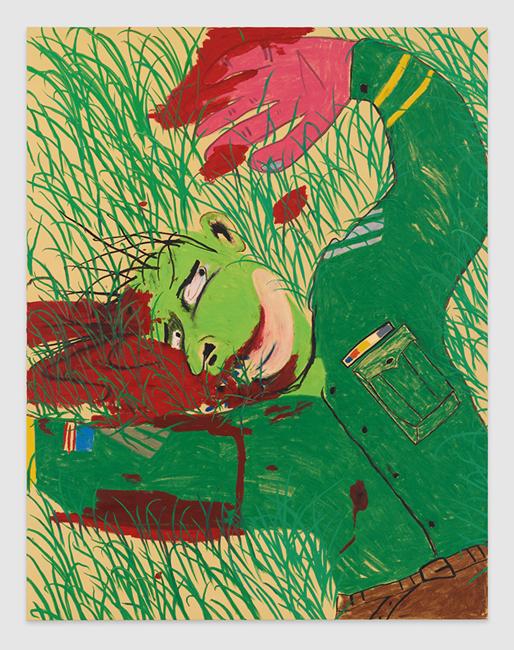 Dead Soldier by Calvin Marcus contemporary artwork