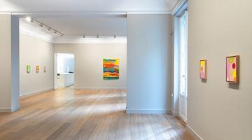 Contemporary art exhibition, Etel Adnan, Satellites and Planètes at Galerie Lelong & Co. Paris, 13 Rue de Téhéran, Paris, France