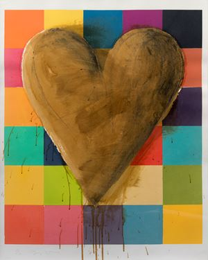 Shellac and Candy by Jim Dine contemporary artwork print