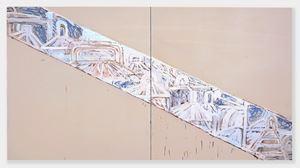 Never Ending by Basil Beattie contemporary artwork