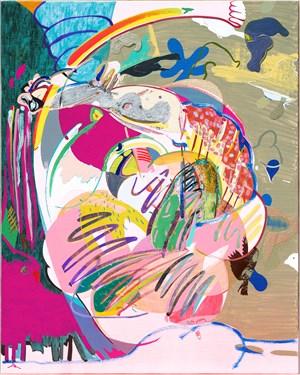 Into the smokescreen by Young Do Jeong contemporary artwork