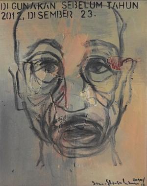 Di Gunakan Sebelum Tahun 2012, Disember 23 by Shooshie Sulaiman contemporary artwork