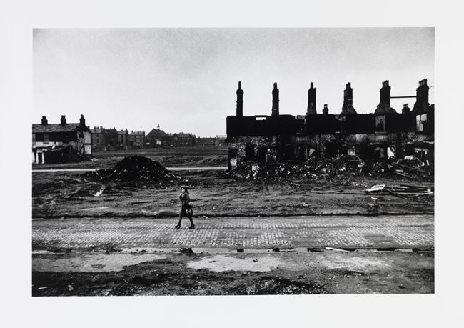 Liverpool, Slum clearance by Don McCullin contemporary artwork