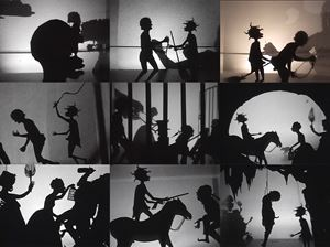 Testimony: Narrative of a Negress Burdened by Good Intentions by Kara Walker contemporary artwork