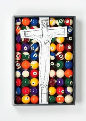 Sans titre (INRI) by Jannis Kounellis contemporary artwork