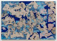 Continental Drift by Samantha Thomas contemporary artwork painting, textile