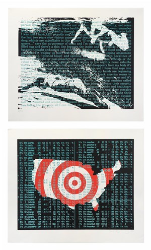 Untitled (for Act-up) by David Wojnarowicz contemporary artwork