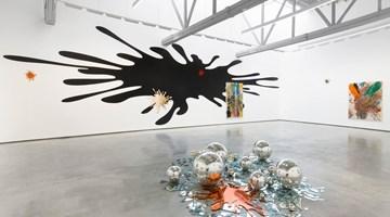 Contemporary art exhibition, John M Armleder, Sh/Ash/Lash/Splash at David Kordansky Gallery, Los Angeles
